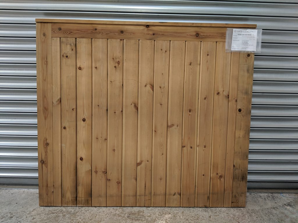Framed, Ledged & Braced with T, G & V Jointed Cladding Timber Gate Sale