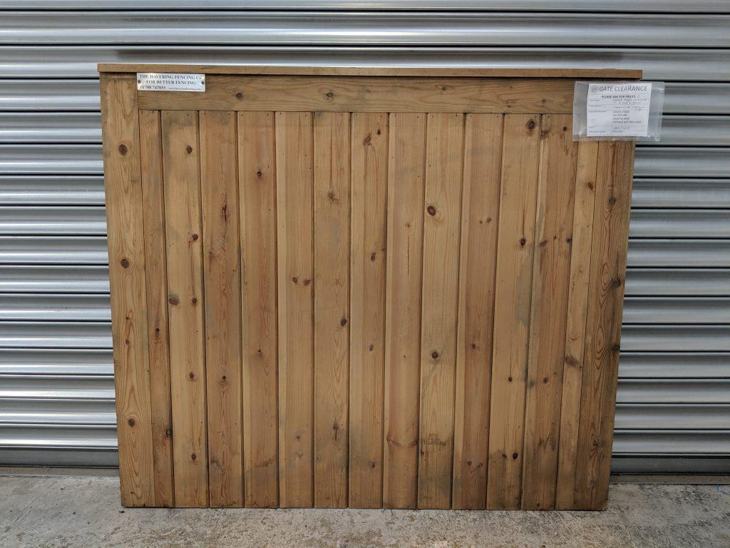Framed, Ledged and Braced, T, G & V Wooden Gate Sale